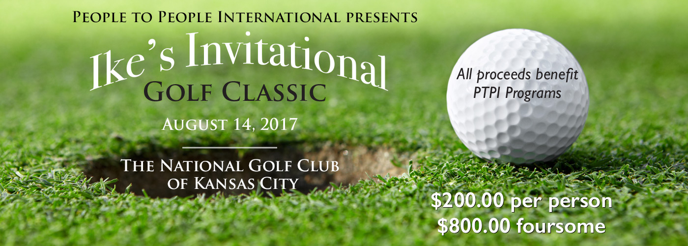 Ike's Invitational Golf Classic - People To People International