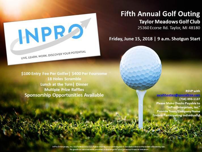 InPro Enterprises 5th Annual Golf Outing