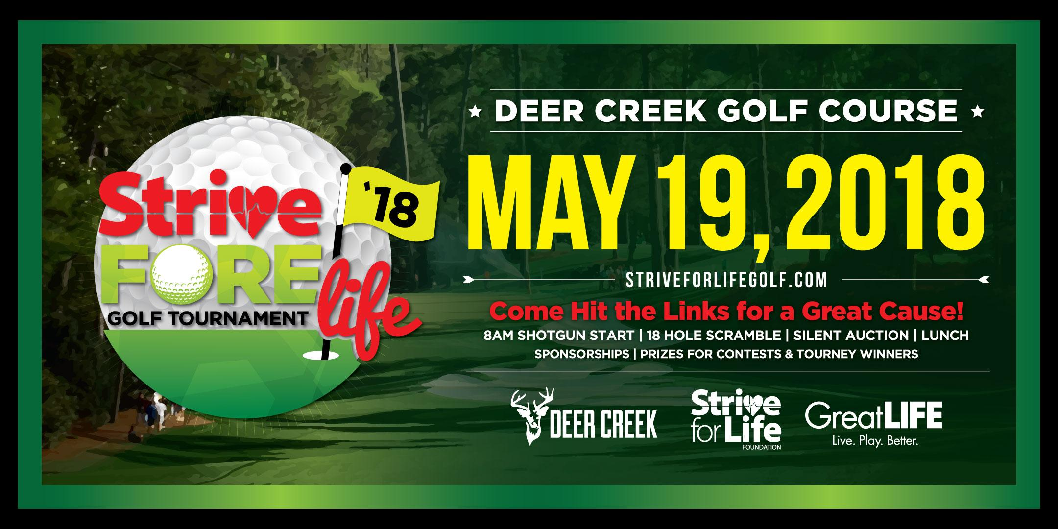 3rd Annual Strive FORE Life Golf Tournament