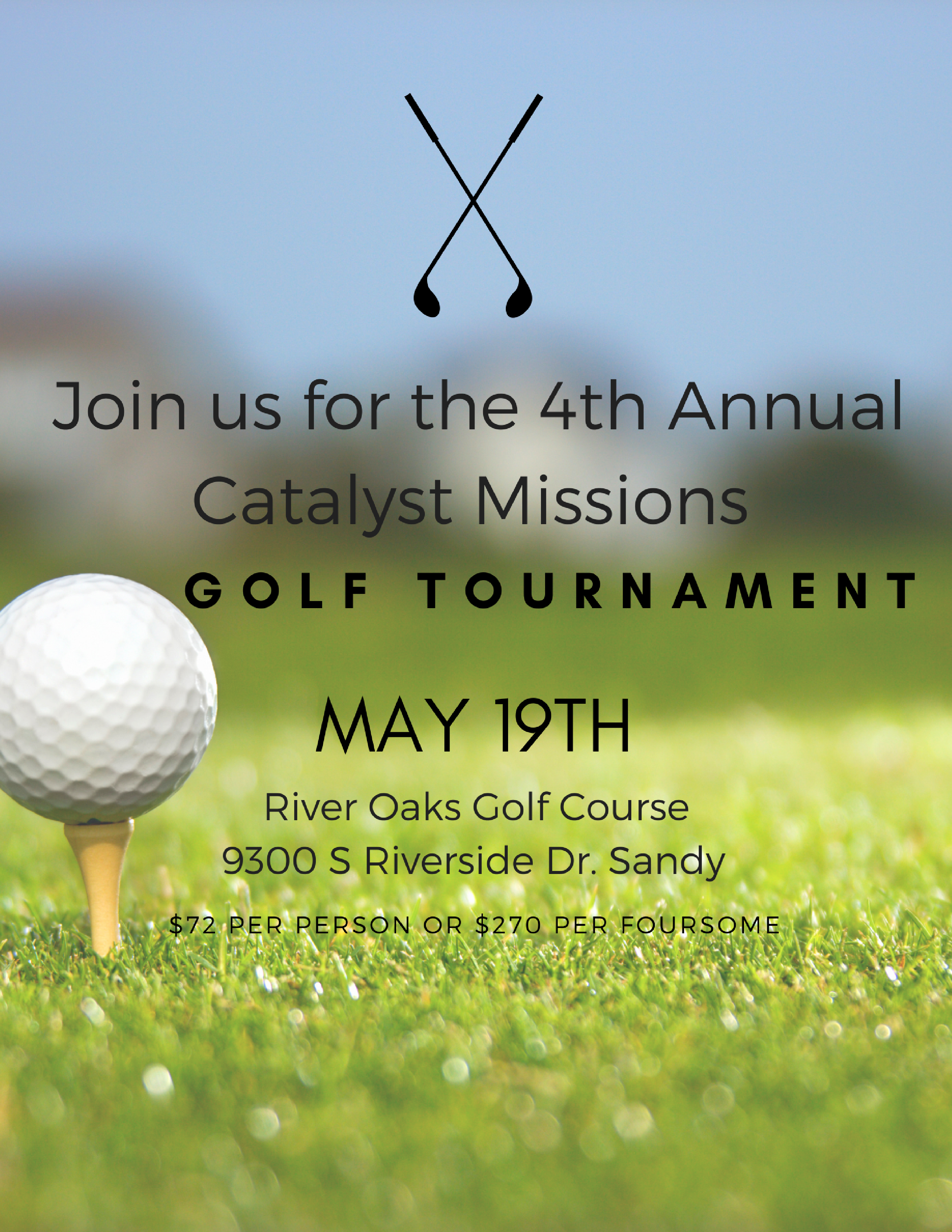 4th Annual Catalyst Missions Golf Tournament