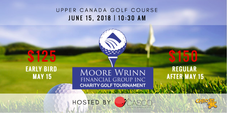 Moore Wrinn Financial Golf Tournament hosted by CASCO