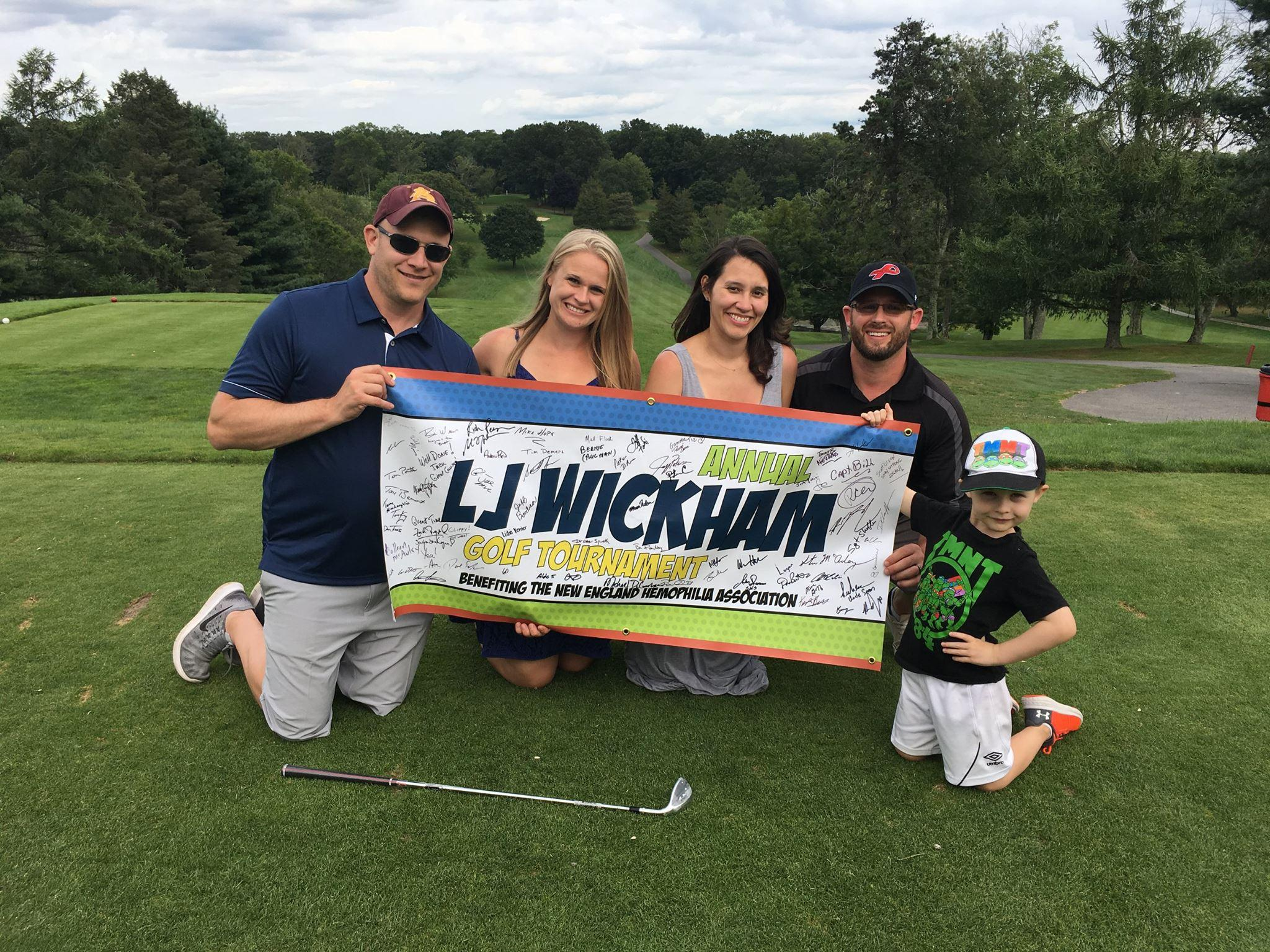 LJ Wickham Golf Tournament