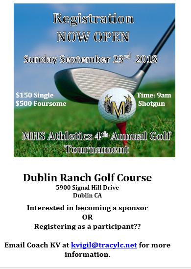 4th Annual Millennium Athletics Golf Tournament