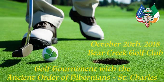 Golf Tournament with the Ancient Order of Hibernians - St. Charles