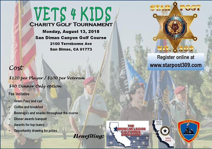VETS 4 KIDS Charity Golf Tournament