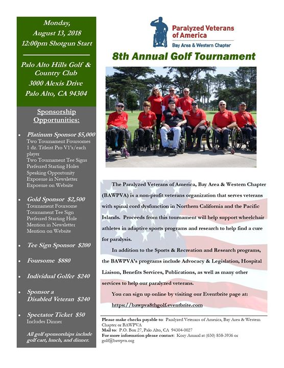 8th Annual Golf Tournament