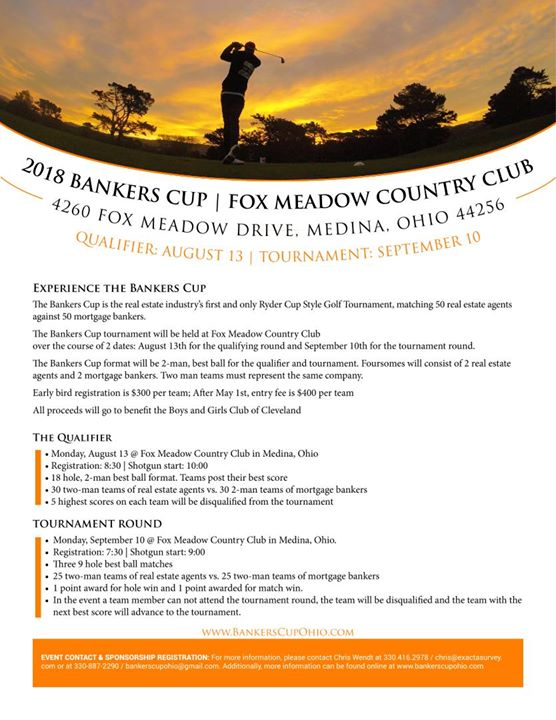 Banker's cup Golf Tournament