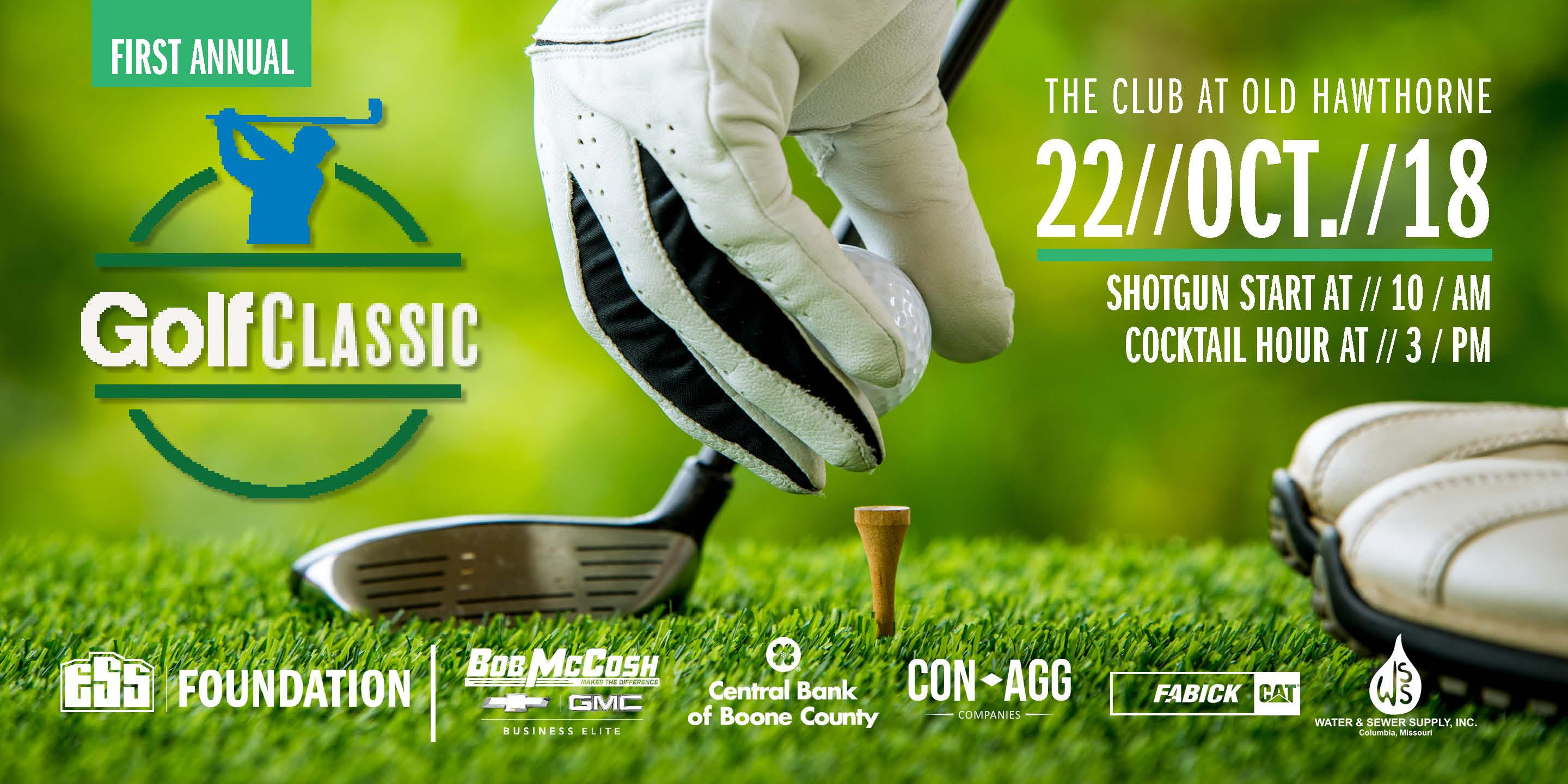 ESS | Foundation's First Annual Golf Classic