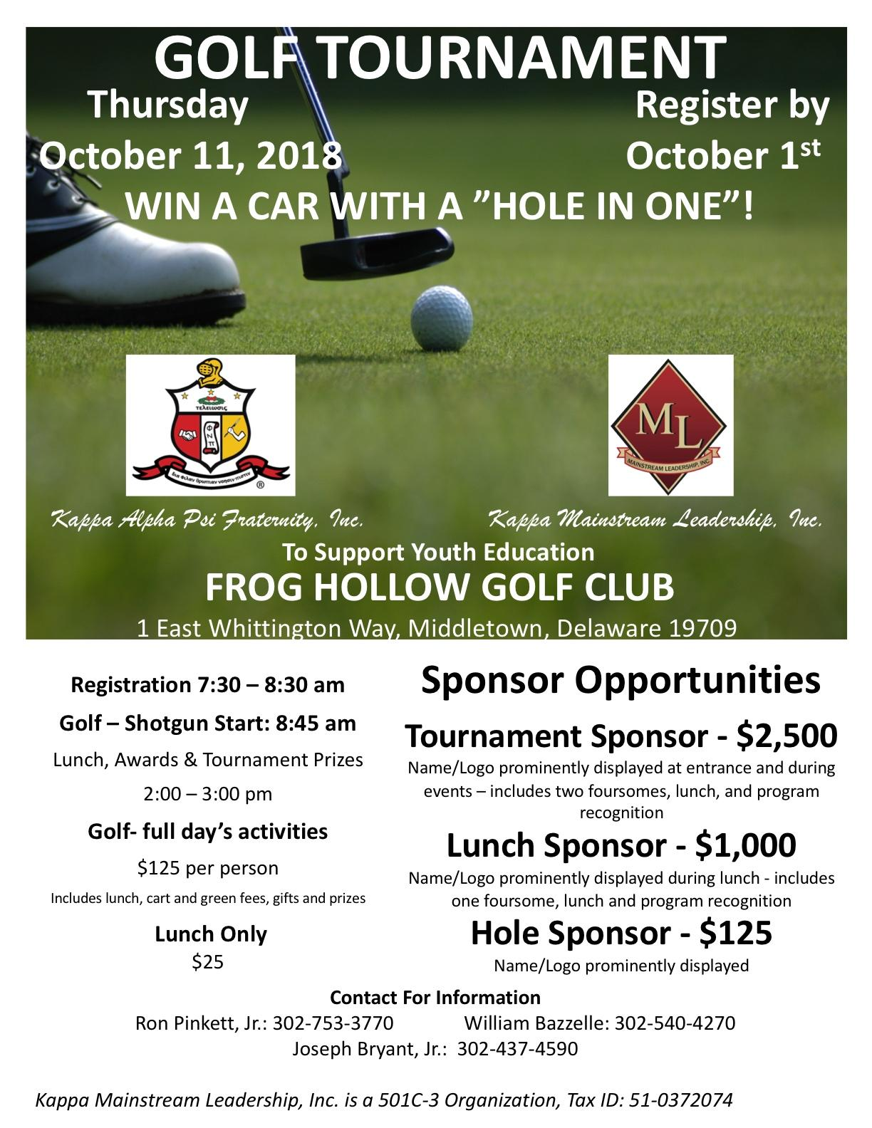 Kappa Mainstream Leadership Golf Tournament