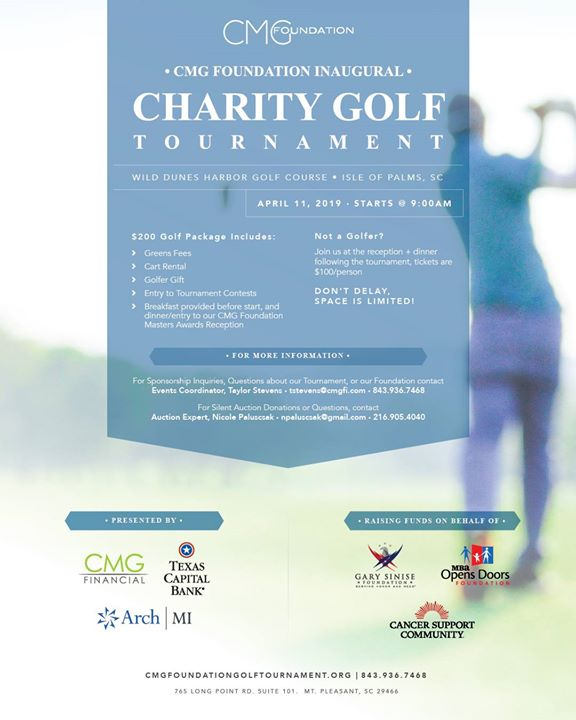 CMG Foundation's Inaugural Charity Golf Tournament