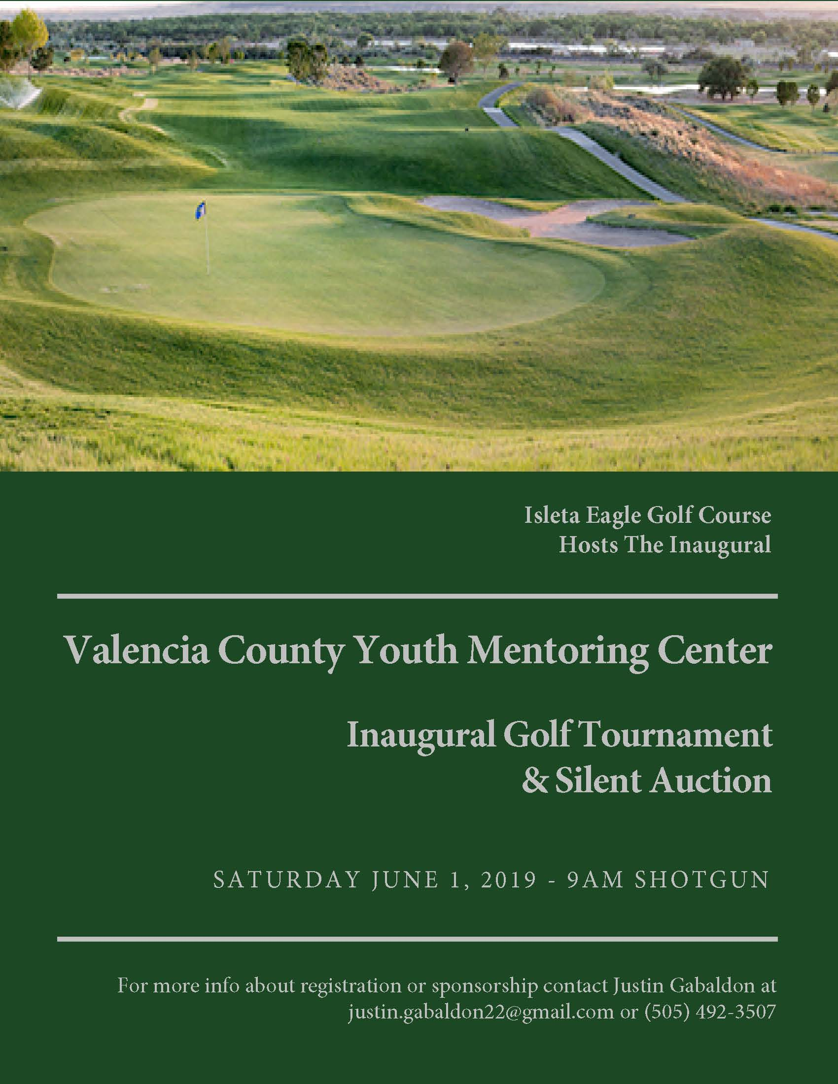 Inaugural Valencia County Youth Mentoring Center Charity Golf Tournament