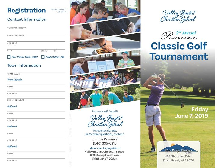 2nd Annual Pioneer Classic Golf Tournament