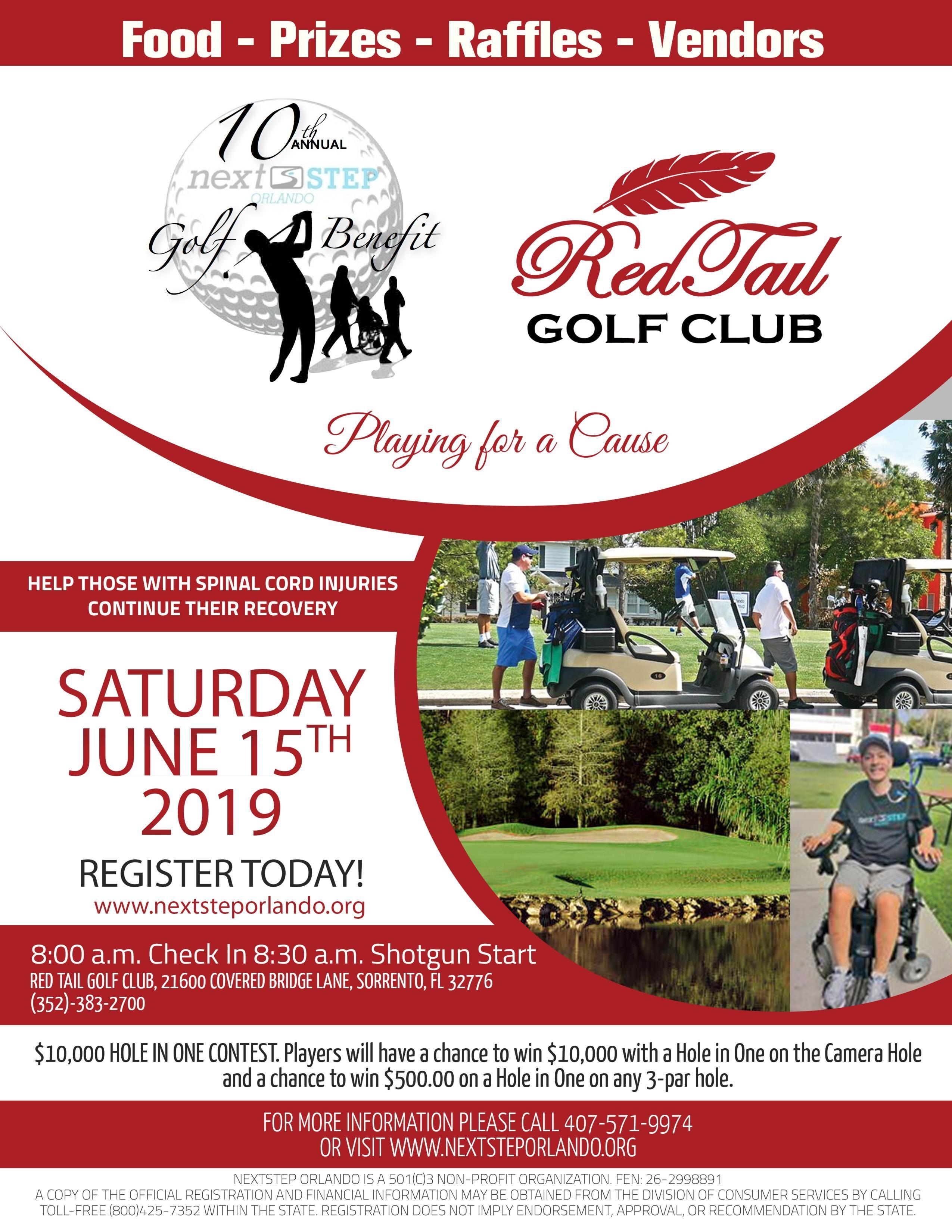 10th Annual Charity Golf Benefit